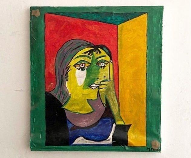 Впарадной наВасильевском острове отыскали копии Пикассо иМатисса